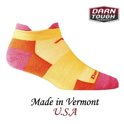 【美國DARN TOUGH】跑步系列裸襪-豔陽色(2入)