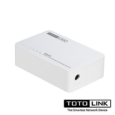 TOTOLINK 5埠家用乙太網路交換器S505