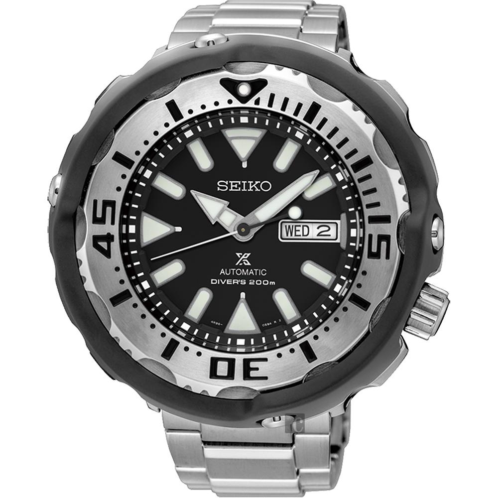 SEIKO精工 Prospex Scuba 水中蛟龍機械腕錶(SRPA79J1)-51mm