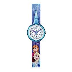 FlikFlak 兒童錶 DISNEY FROZEN ELSA & ANNA 冰雪奇緣手錶