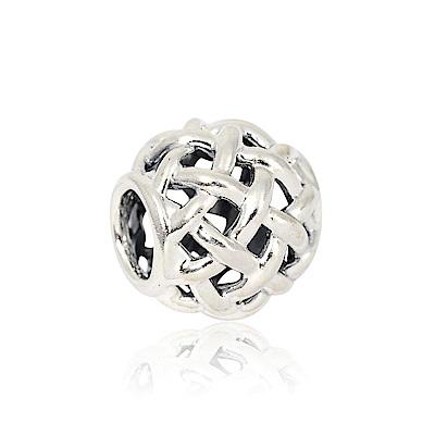 Pandora 潘朵拉 魅力鏤空編織造型 純銀墜飾 串珠
