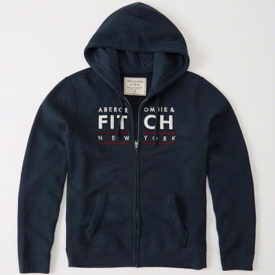 AF a&f Abercrombie & Fitch 外套 藍色 0175