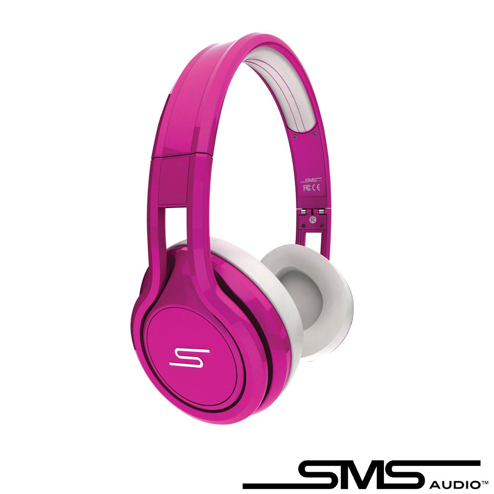 SMS STREET by 50 On-Ear Wired 彩色限量款耳罩式耳機(螢光粉)