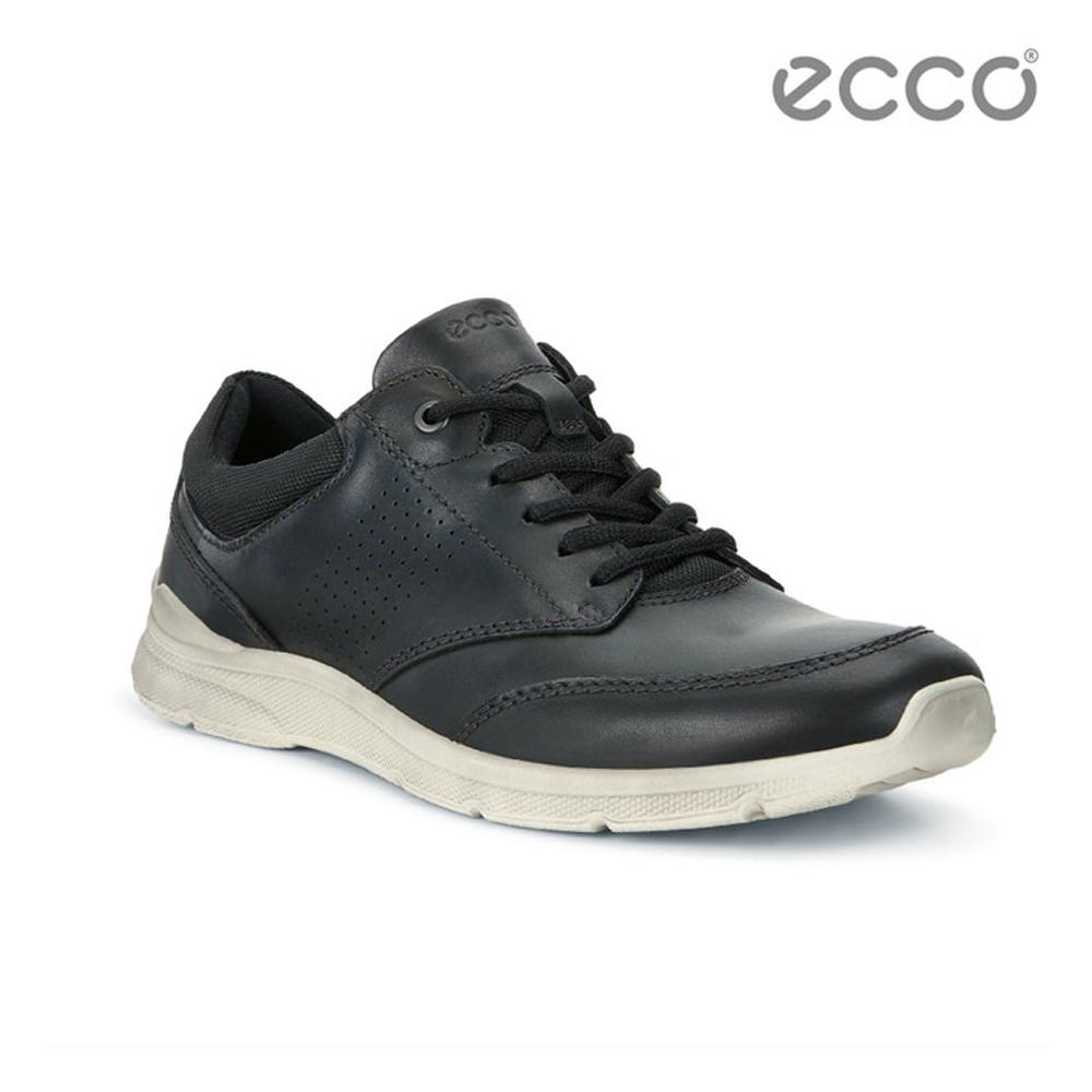 ECCO IRVING 低調質感休閒鞋-黑