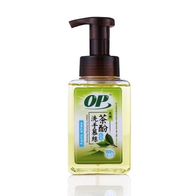 OP天然茶酚洗手慕絲(深層抗菌型370ml)