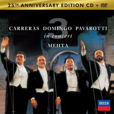 世界三大男高音世紀聯演-1CD-1DVD