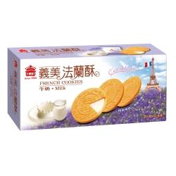 義美 牛奶法蘭酥(132g)