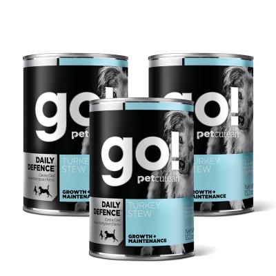 Go! 天然主食狗罐-品燉系列-火雞肉-12件組