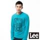Lee 長袖T恤 單車玩具模型膠印-男款(藍