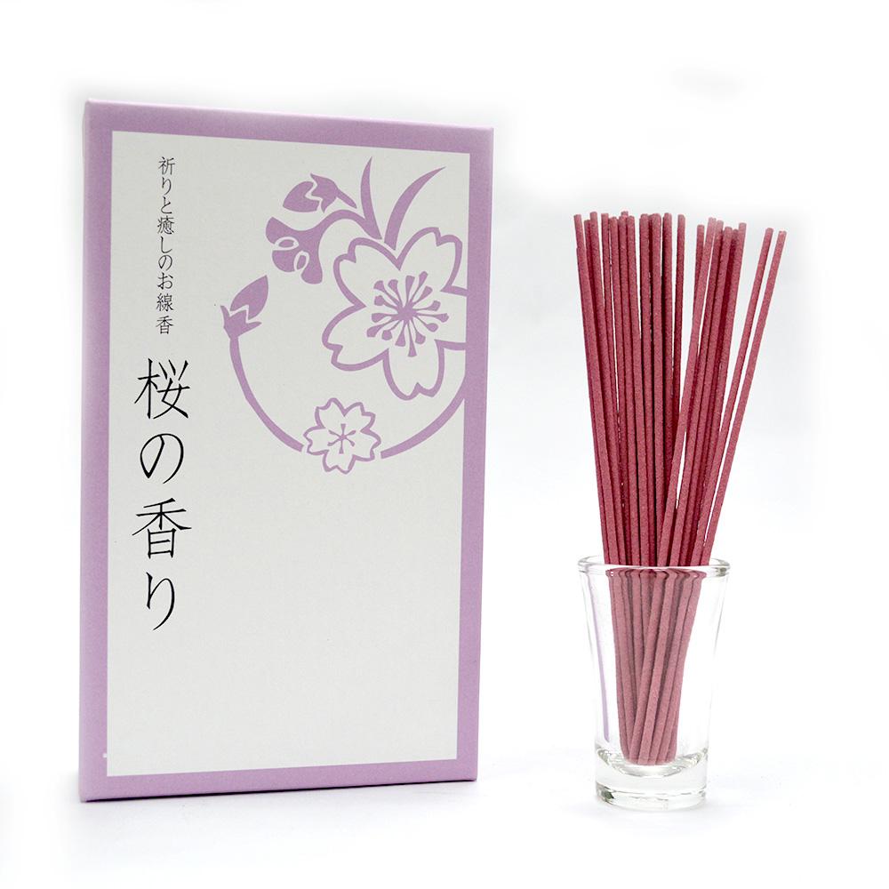 悠悠庵 祈癒之香-櫻花 大盒裝線香100g (原價600)