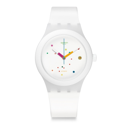 Swatch-51號星球機械錶-SISTEM-WH
