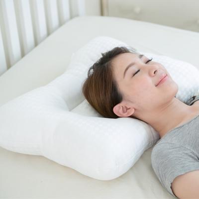 凱蕾絲帝-台灣製造~平凹造形可水洗物理健康止鼾枕-二入
