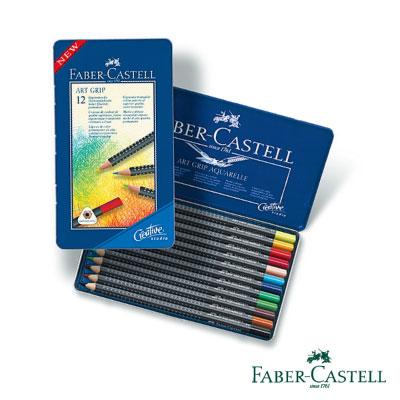 Faber-Castell 創意工坊油性色鉛筆12色