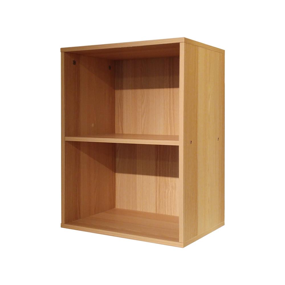 悅家居空間大師二格置物櫃-40x29x54cm