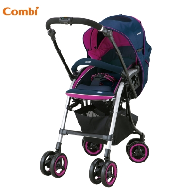 【Combi 康貝】 雙向嬰幼兒手推車(Nemurie UF800 微晨紅)