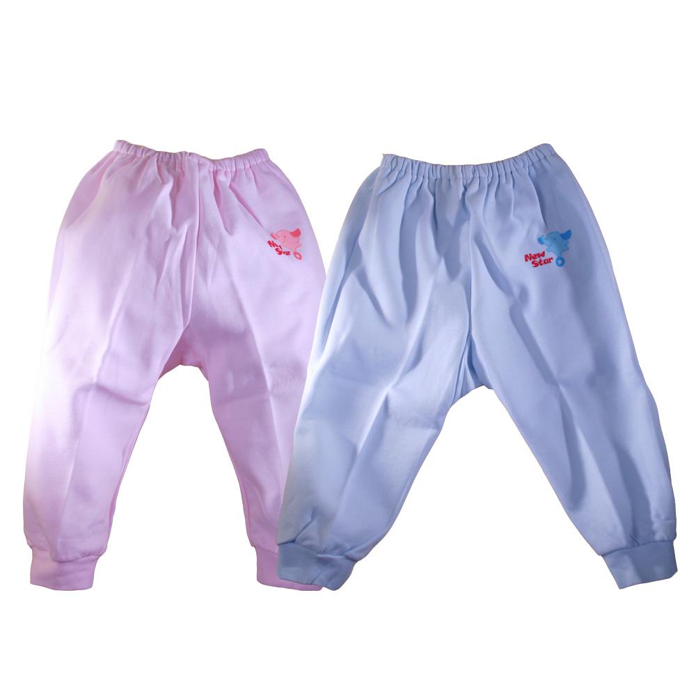 魔法BABY~台灣製造厚款幼兒長褲/褲子(粉.藍)~g3233