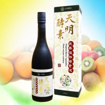 天明製藥 蔬果植物酵素液(600ml/瓶)