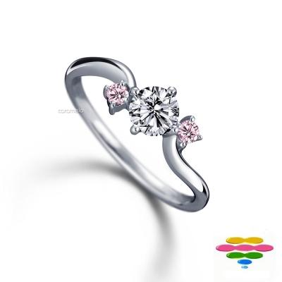 彩糖鑽工坊 19分鑽石戒指   窩心系列