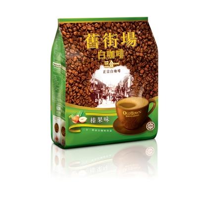 舊街場  3 合 1 白咖啡-榛果( 40 gx 15 入)