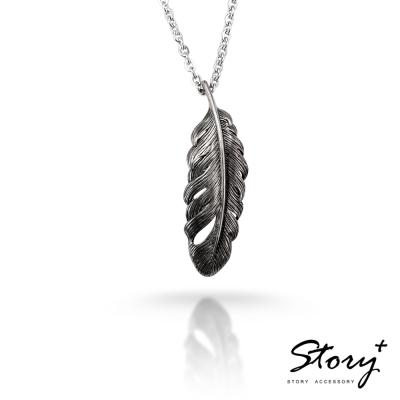 STORY ACCESSORY-天使守護 男款 純銀項鍊