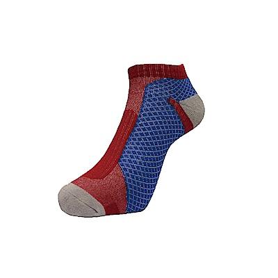 AREX SPOR 足弓支撐機能慢跑襪-女-紅藍