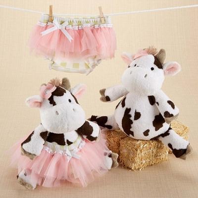Baby Aspen 可愛乳牛包屁紗裙彌月禮