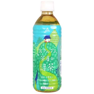 Gold-Pak 北阿爾卑斯綠茶飲料(500ml)