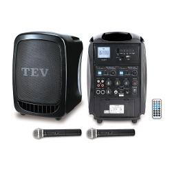 TEV 藍芽/USB/SD雙頻無線擴音機 TA300B-2