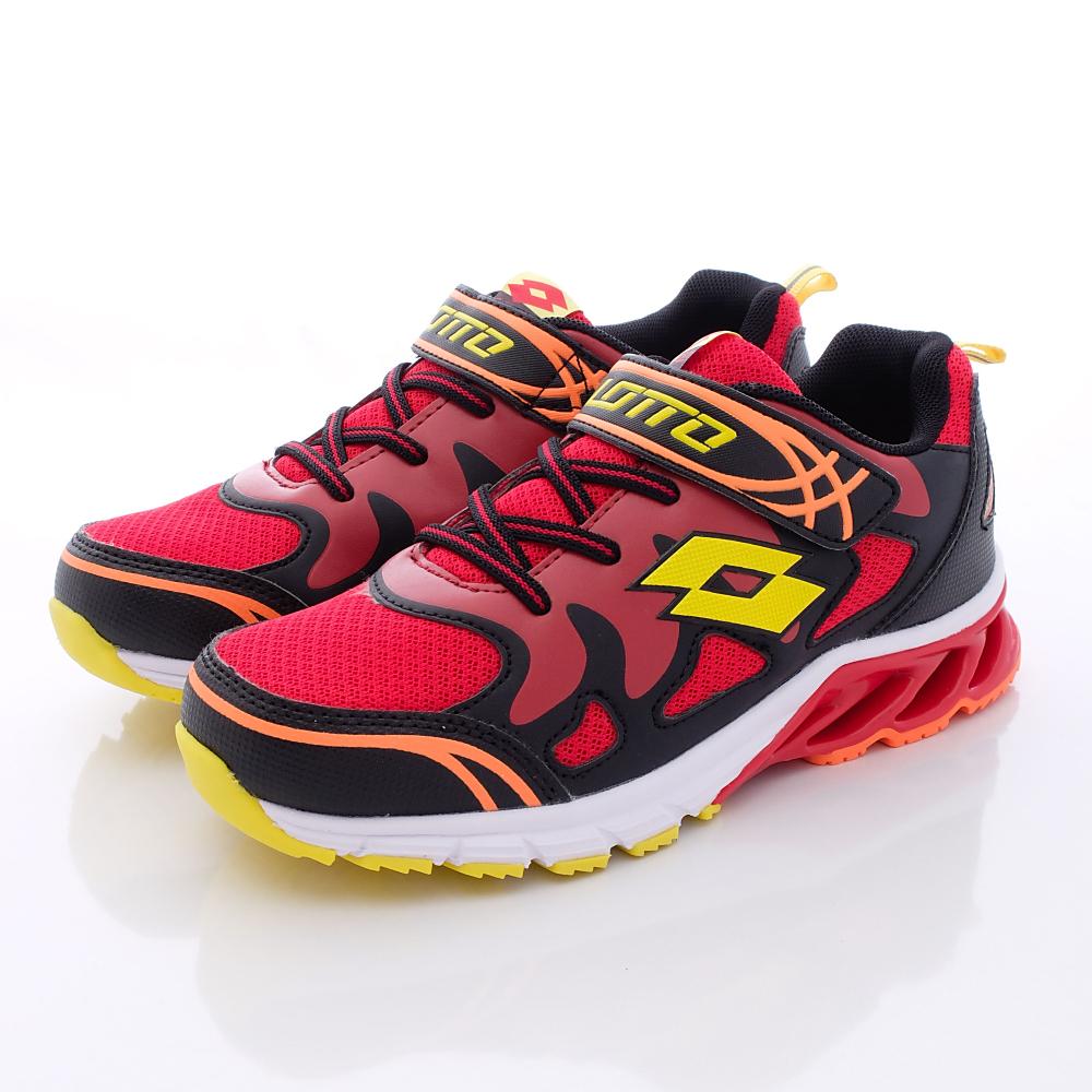 Lotto義大利運動鞋-飛馳彈力-RTH620紅(中大童段)HN