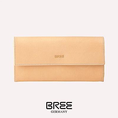 BREE Bornholm 110 自然色 組合式長夾  38-185750110