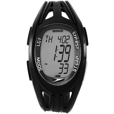Speedo 衝鋒前陣電子腕錶-黑/37mm