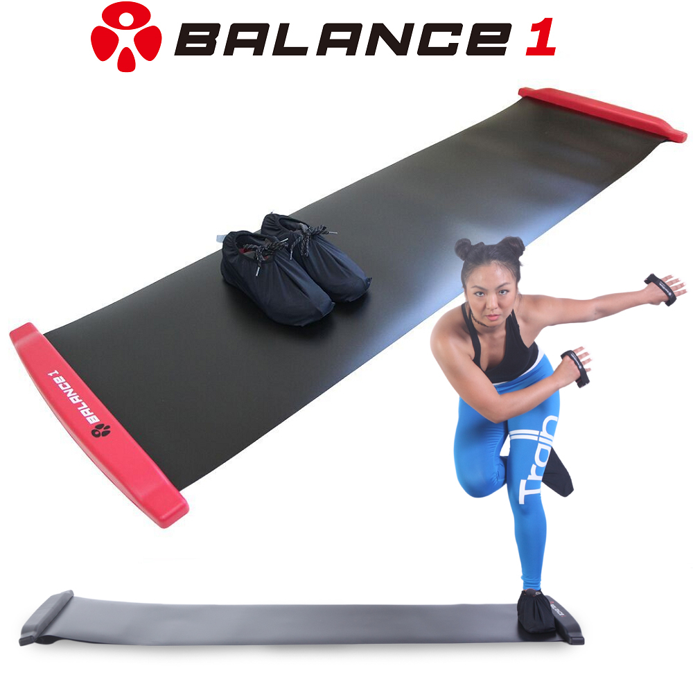 BALANCE 1 橫向核心肌群訓練 滑步器 180cm SLIDING BOARD