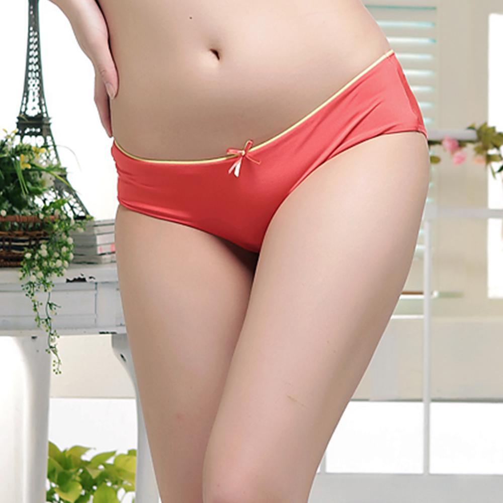 內褲 Tactel吸濕排汗三角褲 紅 L~XL (二件組) ThreeShape
