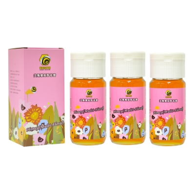蜜蜂故事館 美斯樂原野花蜜 700gx3瓶