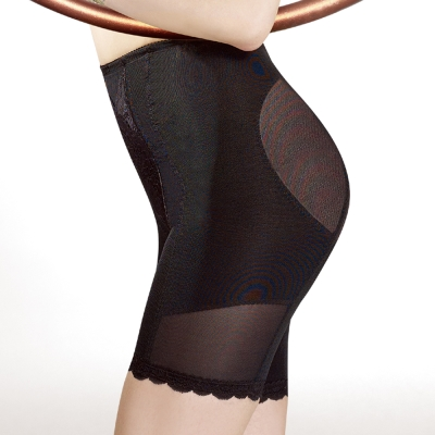 推Audrey-魔塑經典 高腰長束褲(經典黑)