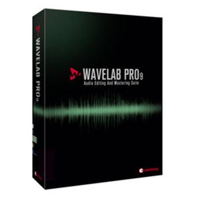 Wavelab 9 (音效編輯) 單機版 (盒裝)
