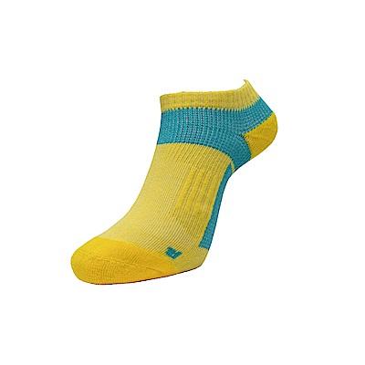 AREX SPOR 足弓支撐機能健走襪-男-黃綠