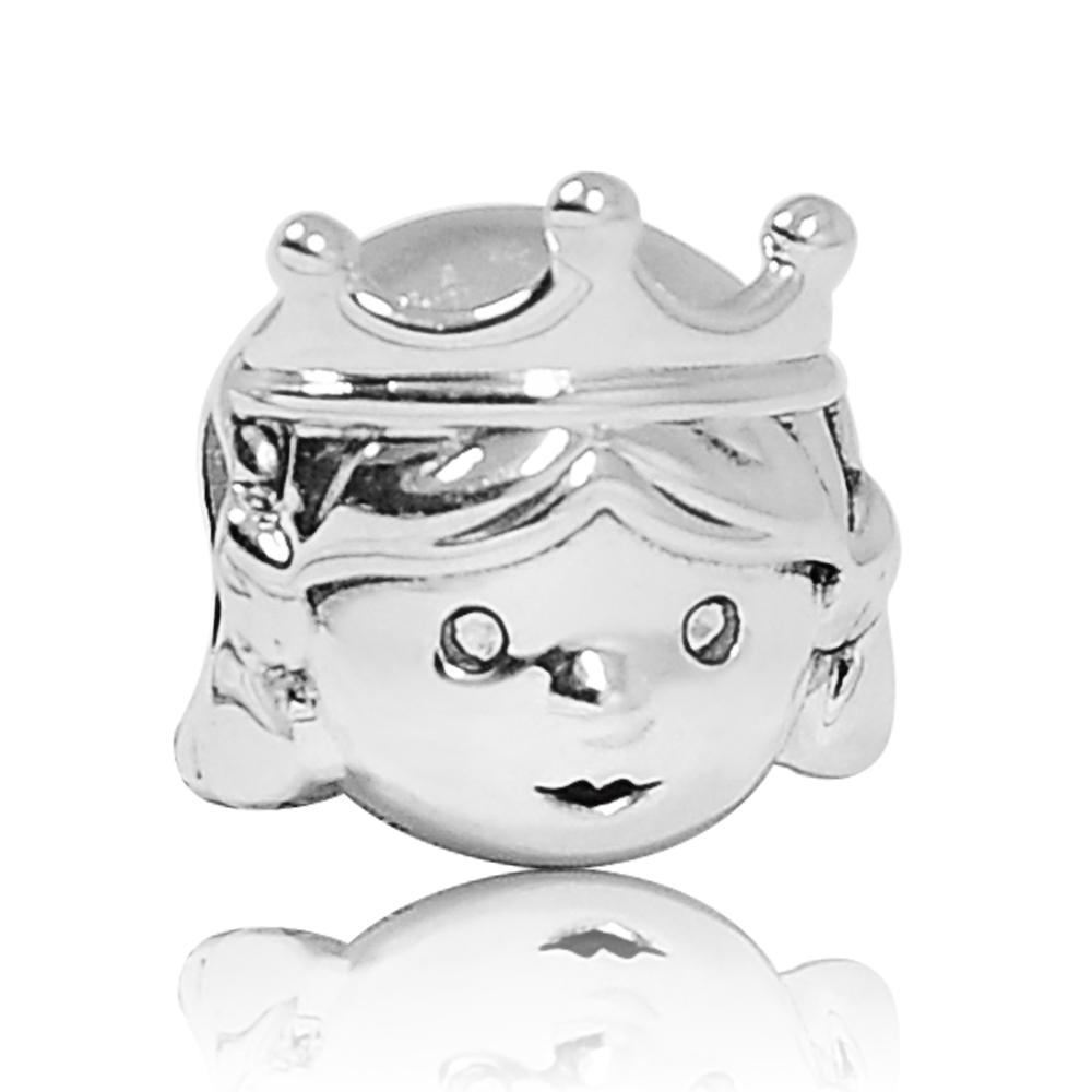 Pandora 潘朵拉 可愛小公主 純銀墜飾 串珠