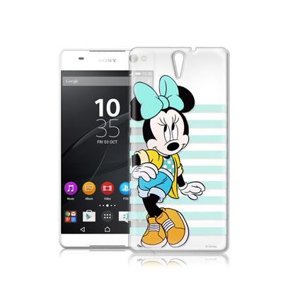 迪士尼Sony Xperia C5 Ultra 街頭透明軟式手機殼(俏米妮)
