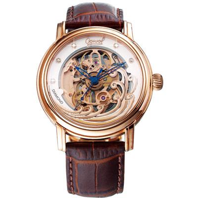 Ogival-愛其華-浪花的手真鑽機械腕錶-40mm