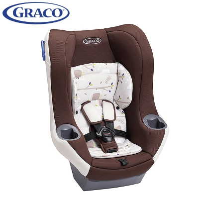 【限時下殺】Graco 0-4歲前後向嬰幼兒汽車安全座椅 MYRIDE? 森林花園