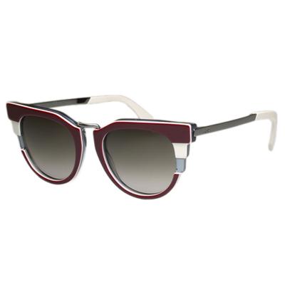 FENDI 廣告主打太陽眼鏡 (紅色)FF0063S