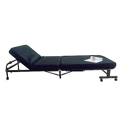 品家居 斯培棉麻布折疊式沙發床-211x96x32cm-免組