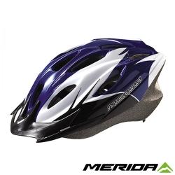 《MERIDA 》美利達CS-1700安全帽-藍/白/黑