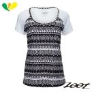 ZOOT 頂級極致型輕羽級吸排運動跑衣(女) Z1704008(圖紋黑)