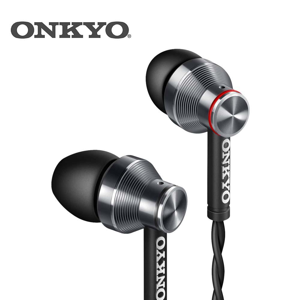 ONKYO E300M 入耳式有線耳機 (黑/白)