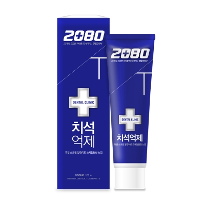 韓國2080 牙石(垢)抑制牙膏(120gX2入)