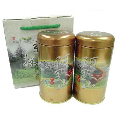【阿豐茶行】阿里山高山烏龍茶禮盒(2罐入)