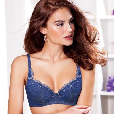 黛安芬-超值美選B-E罩杯內衣-碧海湛藍