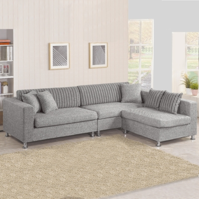 Bernice-歐拉L型布沙發